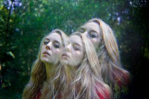 stefano majno analog analogue film multi exposure federica three witching hour blonde beauty