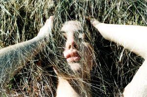 stefano majno analog analogue film multi exposure ophelia grass lips portrait