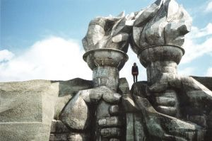stefano majno concrete brutalism soviet relic girl