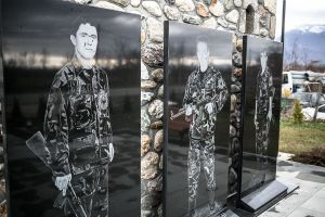 kosovo balkans stefano majno peja on the road uck heroes monuments.jpg