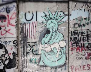stefano majno israel west bank wall banksy graffiti america usa crying child.jpg.jpg