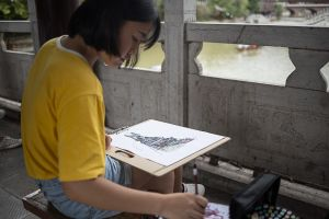 fenghuang china by rail stefano majno asia drawing girl.jpg